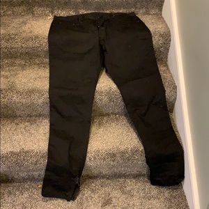 Mnml black men's jeans